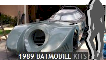 1989 Batmobile Kits